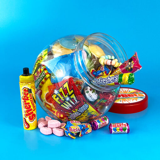Retro Sweets Jar