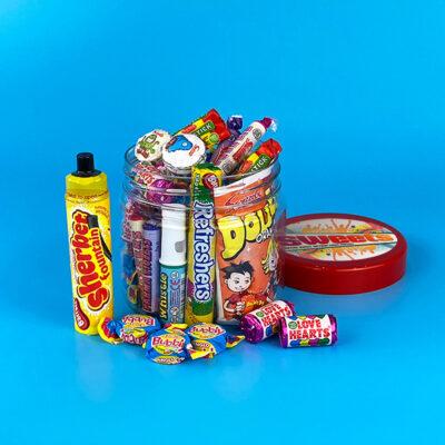 Retro Sweets Tub